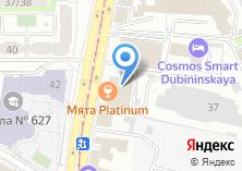 Компания «ALESTA» на карте