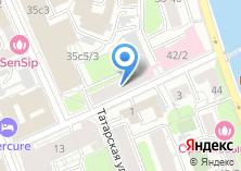 Компания «Столичная печать» на карте