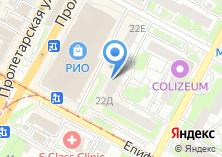 Компания «Федеральная почтовая служба» на карте