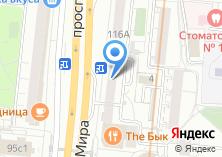 Компания «Telefonica» на карте