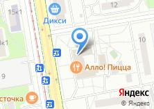 Компания «Кухни с нами» на карте