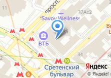 Компания «ВТБ 24» на карте