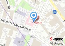Компания «СДЮСШОР по синхронному плаванию» на карте