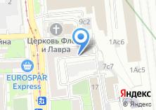 Компания «Почтовое отделение №115054» на карте