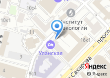 Компания «Уланская» на карте