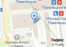 Компания «Прижелезнодорожный почтамт при Павелецком вокзале» на карте