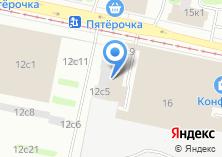 Компания «ВАКХ» на карте