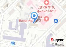 Компания «Интел Телеком» на карте