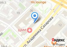 Компания «Центр авиационной медицины» на карте