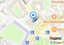 Компания «Строящееся административное здание по ул. Солянка» на карте