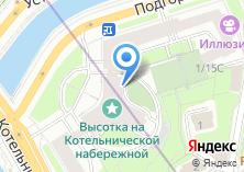 Компания «Evora» на карте
