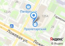Компания «Магазин мужской одежды и обуви на Ложевой» на карте