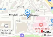 Компания «Реестр» на карте