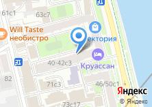 Компания «Круассан» на карте