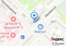 Компания «Каскад Телеком» на карте