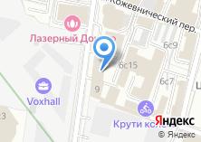 Компания «V-optima» на карте