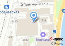 Компания «Tinet» на карте