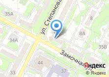 Компания «Магазин продуктов на ул. Степанова» на карте