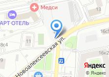 Компания «Автостоянка №76 на Новоалексеевской» на карте