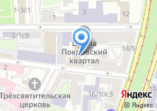 Компания «Московская Центральная Церковь Евангельских Христиан-Баптистов» на карте