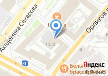 Компания «Голос» на карте