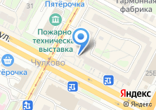 Компания «Кибернетика» на карте