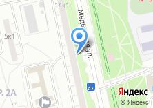 Компания «Арида» на карте