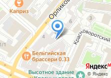 Компания «Автодоставка» на карте