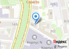 Компания «Постоянное Представительство Республики Северная Осетия-Алания при Президенте РФ» на карте