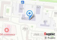 Компания «МИУ» на карте