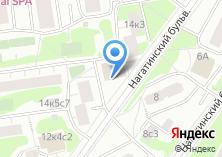 Компания «Почтовое отделение №115533» на карте