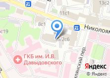 Компания «Храм Преподобного Симеона Столпника за Яузой» на карте