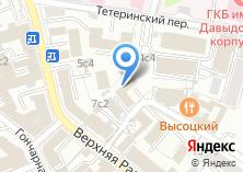 Компания «Солунь» на карте