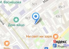 Компания «Cornerstone» на карте