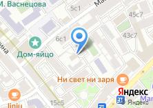 Компания «Столичная земля» на карте