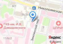 Компания «Городская клиническая больница им. И.В. Давыдовского» на карте