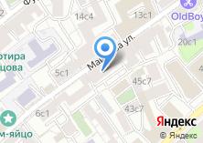Компания «Мини-отели в центре Москвы» на карте