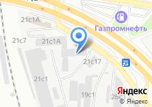 Компания «Техностар» на карте