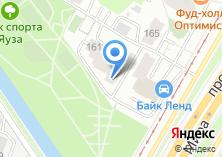 Компания «Технокерт» на карте