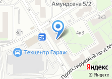 Компания «Проектирование зданий и сооружений» на карте