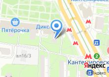 Компания «Амис» на карте