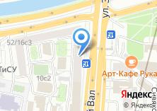 Компания «АКБ РосЕвроБанк» на карте