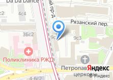 Компания «У трех вокзалов» на карте