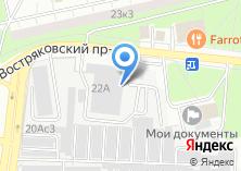 Компания «Востряково-2» на карте