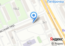 Компания «VIP Баня на Новоспасском переулке» на карте