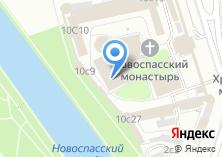 Компания «Храм Покрова Пресвятой Богородицы в Новоспасском монастыре» на карте