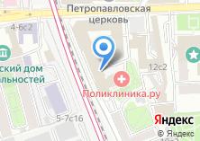 Компания «Медосмотры.ру» на карте