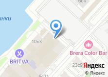 Компания «Столичная судоходная компания» на карте