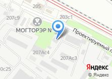 Компания «Технокомспецстрой» на карте
