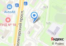 Компания «Эрголайн» на карте
